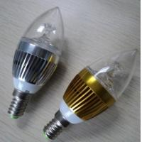 Buy cheap 1.6 dollar1w E14 LED candle lamps/hot sale led candle light/Aluminum body PC shell 80lums from wholesalers