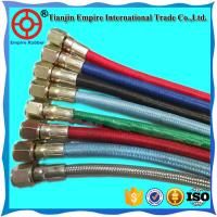 Buy cheap High temperature resistant steam rubber fiber braided pipe hose for steam deliver with factory price from wholesalers