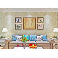 Buy cheap Home Beautiful Floral Country Style Wallpaper , Non Woven Wallcovering 0.53*10M from wholesalers
