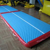 Buy cheap Indoor Inflatable Sports Games , Inflatable Air Mats For Gymnastics Equipment from wholesalers