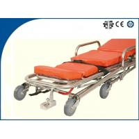 Buy cheap Aluminum Alloy Ambulance Trolley Stretchers Foldable Light Weight for Patients Rescue from wholesalers