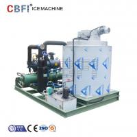 Buy cheap 25 Hp Semi Hermetic Compressor Flake Ice Machine -5℃ ice temp 5 ton / day from wholesalers