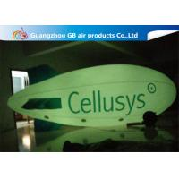 Buy cheap Commercial Inflatable Helium Balloons , Giant Helium Blimp With LED Light product