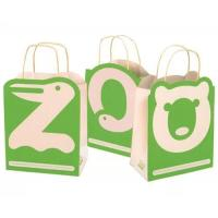 Buy cheap custom elegant tiny paper bags wholesale making manufacturer with logo printing from wholesalers