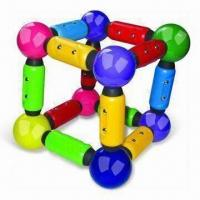 Buy cheap Magnetic Construction Toy with Rods and Sticks, Suitable for 3 Years Old Kids product