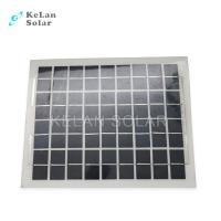 Buy cheap Sun Power Crystalline Semi Flexible Solar Panel 10Wp Water Proof  For Boat / Car from wholesalers