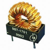 Buy cheap High Current Toroidal Inductor with Semi-encapsulated Construction and Cost-effective Design from wholesalers