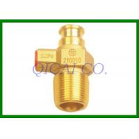 Buy cheap Brass Straight Gas Tank Valves , inlet thread PZ27.8-LH / Customized from wholesalers