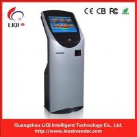 Buy cheap Cashless Self Service Payment Terminal With 19 Inch Infrared Touch Screen from wholesalers