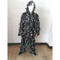 Buy cheap 3D Leafy Leaves Clothing Jungle Woodland Hunting Camo Ghillie Suit from wholesalers