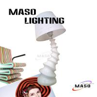 Buy cheap Tornado Shape Resin Modern Art Design Table Lamp Made of Resin Cloth Cover MS-T1007 from wholesalers