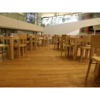 Quality Birch Stained Color Handcraped flooring for sale