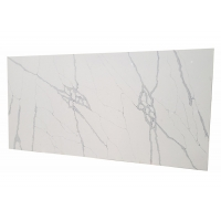 Buy cheap Marble Looking 1400*3000mm 15mm Calacatta Quartz Slab product