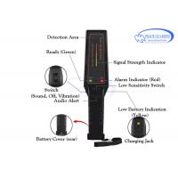Buy cheap LED Indicator Portable Metal Detector , Hand Wand Metal Detector With 9V Rechargeable Battery from wholesalers