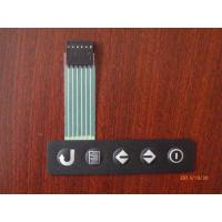 Buy cheap OEM Medical Equipment Metal Dome Tactile Membrane Switch Panel with Flat Cable from wholesalers