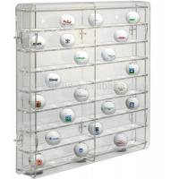 Buy cheap acrylic golf ball display case large plexiglass display cabinet for golf ball wholesale display case from wholesalers