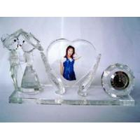 Buy cheap Crystal Office Set--Crystal Image & Clock (JD-BJ-003) from wholesalers
