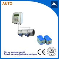 Buy cheap Wall Mounted Clamp On Type Ultrasonic Flowmeter/Fixed Ultrasonic Flow Meter with reasonabl from wholesalers