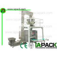 Buy cheap Flat Bottom Bag Vertical Form Fill Seal Machine With 10 Head PLC Control from wholesalers
