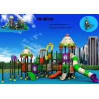 Buy cheap Automobile Style Large Scale Kids Outdoor Playground Equipment Long Using Life from wholesalers
