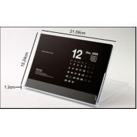 Buy cheap 4mm Transparent Acrylic Calendar Holder Able To Close And Open product