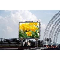 Buy cheap Full color smd 1R1G1B 10mm Outdoor Led Banner Display / HD Led Video Display High Brightness waterproof 3 years warranty from wholesalers
