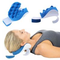 Buy cheap Eco Friendly Relax Massage Pillow , Neck Massage Pillow Ergonomic Design from wholesalers