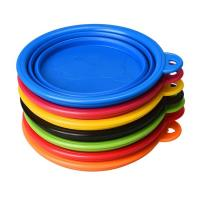 Buy cheap Food Water Collapsible Pet Bowl , Colorful Portable Dog Bowl Collapsible from wholesalers