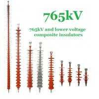 Buy cheap 765 kV Composite Polymer Insulator , IEC Standard Transmission Line Insulators from Wholesalers