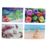 Buy cheap CMYK Offset Custom Lenticular Printing Cards 100% Recyclable UV Printing from wholesalers