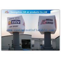 Buy cheap Giant Square Pillar Inflatable Advertising Balloons Oxford Cloth 8m Waterproof from wholesalers