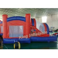 Buy cheap Spider-man Funny Inflatable Jumping Bouncy Castle Outdoor  Red with 0.55mm PVC Tarpaulin from wholesalers