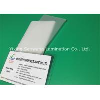 Buy cheap Long Seal Edge Heat Laminating Sheets , ID Badge Laminating Pouches 5 Mil from wholesalers
