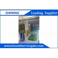 Buy cheap 3-6m Boom Barrier Gate / Parking Lot Swing GatesWith IC Card Read System from wholesalers