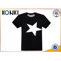 China Summer Mens Casual Custom T Shirt Printing Personalised With Short Sleeve on sale