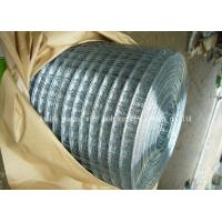 Buy cheap Electro Galvanized Welded Wire Mesh Roll Standard 30m Length Simple Structure from wholesalers
