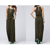 Buy cheap 2012 Fashion Design Ladies Leisure Wear  Fashion Clothes Wholesale Womens Leisure Wear Pants Jumpsui from wholesalers