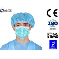 Buy cheap Cloth Mouth Cover Mask Fashion , Earloop Disposable Face Mask Ultra Soft Full Length product