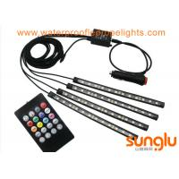 Buy cheap Car LED Strip Light LED Multicolor Music Car Interior Light LED Under Dash Lighting Kits from wholesalers