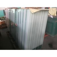 Buy cheap Tinted / Printed Acid Etched Glass For Residential Balustrades , Crystallized Glass from wholesalers
