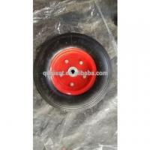 Buy cheap rubber wagon cart / wheel barrow wheel tyre 3.50-6 from wholesalers