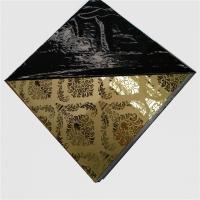 Buy cheap etched pattern stainless steel Decorative Mirror Stainless Steel panel from wholesalers