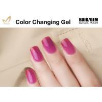 Buy cheap Gradient Temperature Changing Gel Nail Polish , Organic Gel Mood Nail Polish product