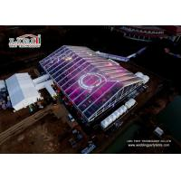 Buy cheap Clear 50m Span Distance Large Event Tent For Annual Conference , Ceremony , Wedding from wholesalers
