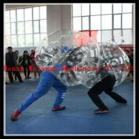 Buy cheap buddy bumper ball for adult inflatable human soccer bubble ball for football from wholesalers