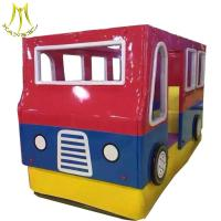Buy cheap Hansel  children play game soft play car items for rent attraction large kiddie bus ride in mall from wholesalers