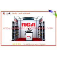 Buy cheap Resuable Custom Exhibit Booth Displays Portable With Aluminum Frame from wholesalers