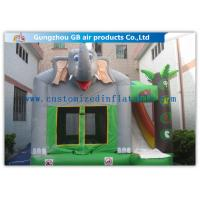 Buy cheap Commercial Inflatable Combo With Slide Inflatable Elephant Bouncer With Slide from wholesalers
