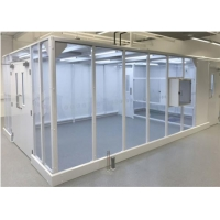 Buy cheap 220V 50HZ Softwall Cleanroom Medical Masks Production / Medical Clean Room product