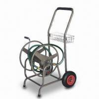 Buy cheap Garden Hose Reel with Pb-free/UV-resistant Powder Coating and Steel Bracket product
